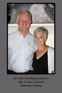 Dale & Nancy Venhuizen at Kansas Meeting 2012